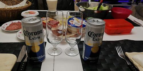 Einige Produkte Corona Extra in dieser Coronavirus-Krise