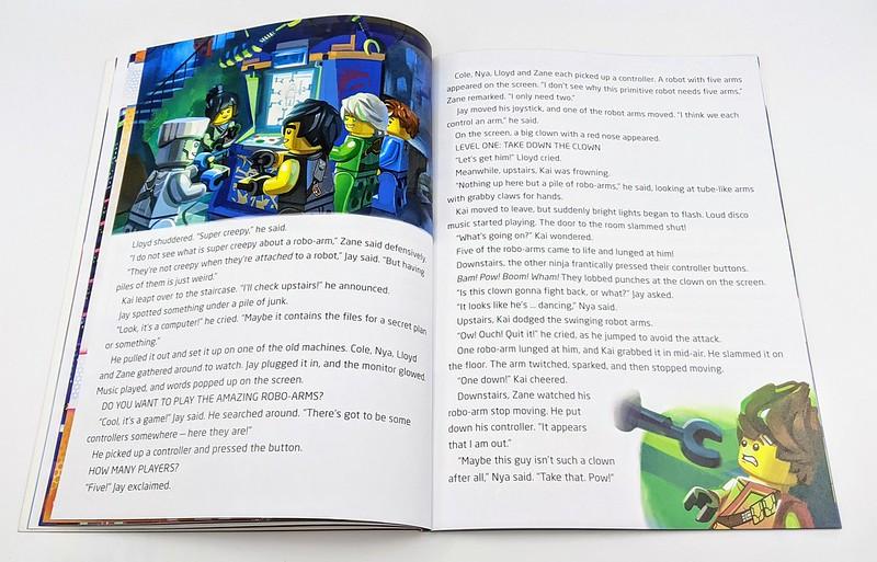 LEGO NINJAGO Ready, Players? Book