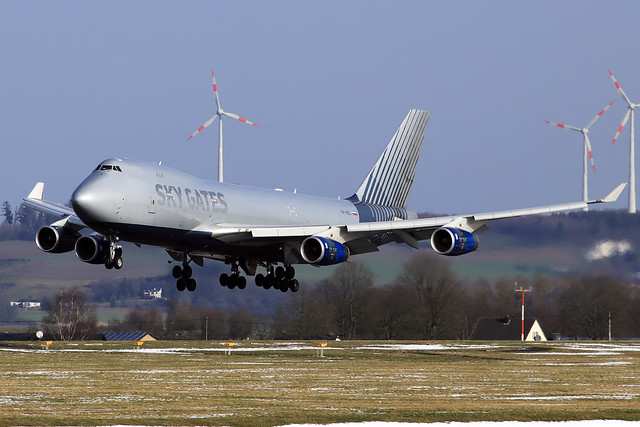 Sky Gates Airlines  Boeing 747-467(F) VP-BCI