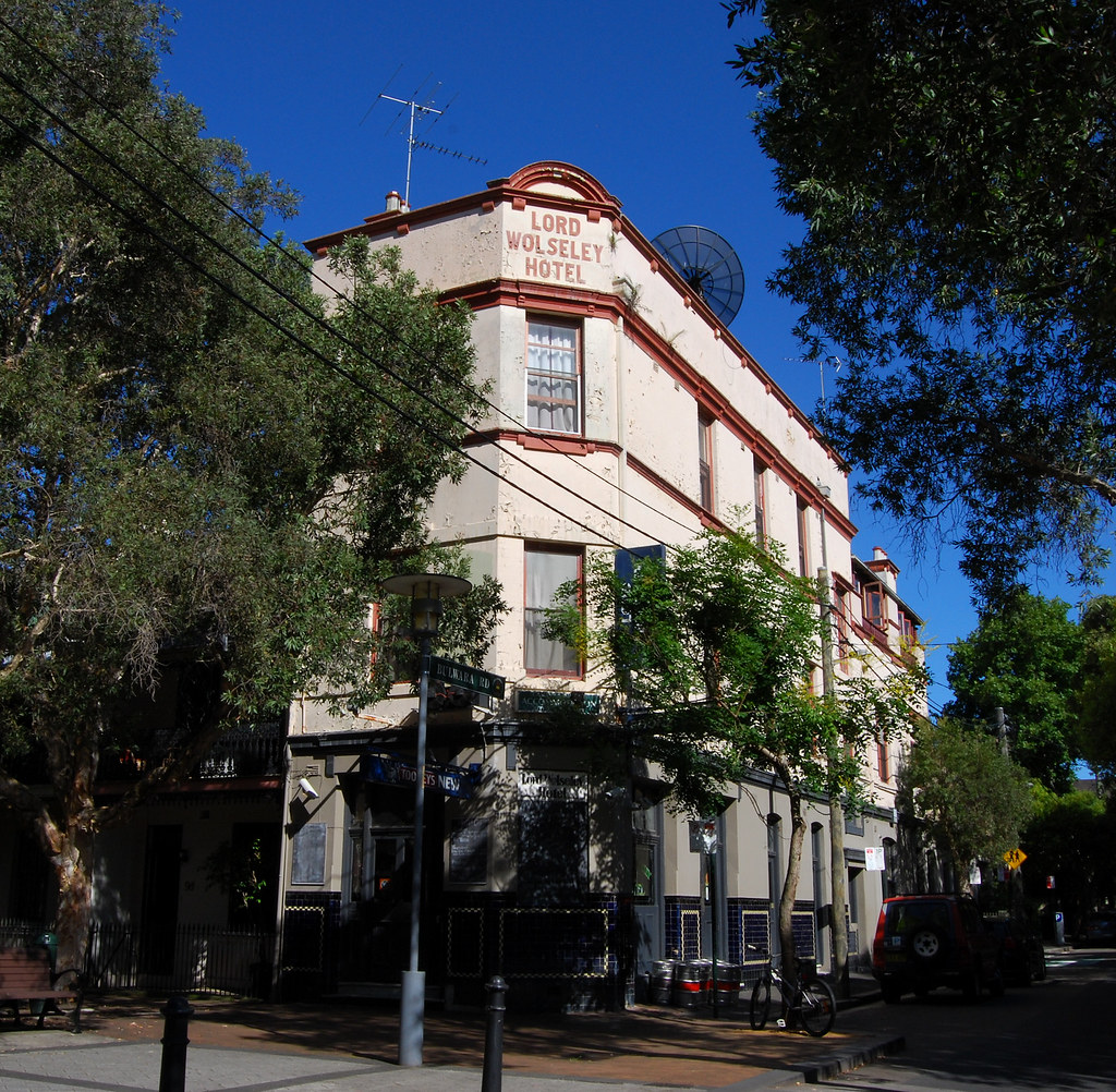 Lord Wolseley Hotel, Ultimo, Sydney, NSW.