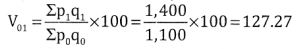 2nd PUC Statistics Question Bank Chapter 2 Index Number - 18