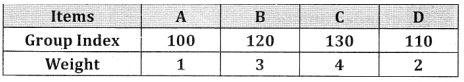 2nd PUC Statistics Question Bank Chapter 2 Index Number - 19