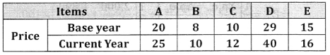 2nd PUC Statistics Question Bank Chapter 2 Index Number - 24