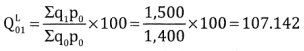 2nd PUC Statistics Question Bank Chapter 2 Index Number - 82