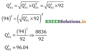 2nd PUC Statistics Question Bank Chapter 2 Index Number - 85