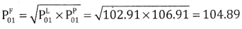 2nd PUC Statistics Question Bank Chapter 2 Index Number - 127