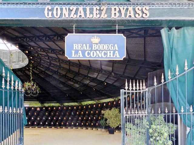 barricas edificio Real bodega La Concha circular Bodegas Gonzalez Byass Jerez de la Frontera Cadiz 01