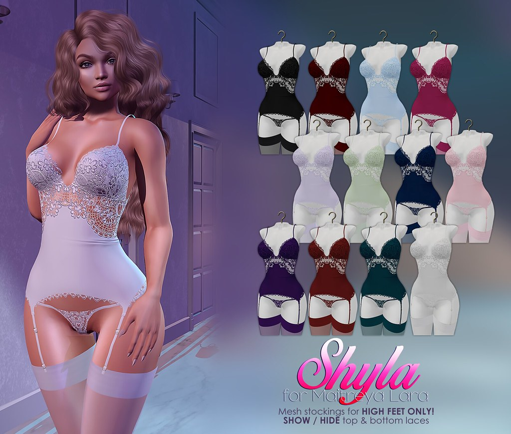 MAAI Shyla lingerie + GIVEAWAY