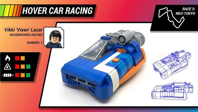 LEGO hover car racer speeder