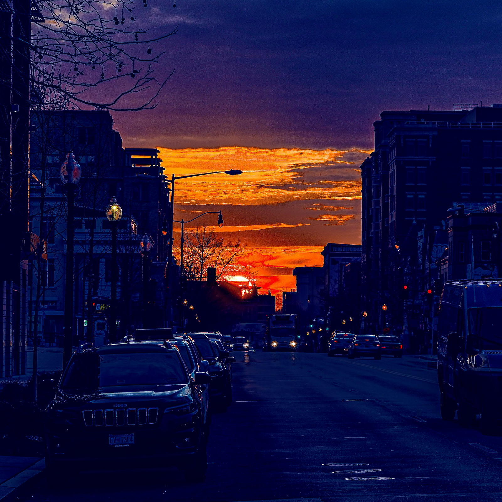 Photo Friday: Sunrise over U Street, NW, Washington, DC USA