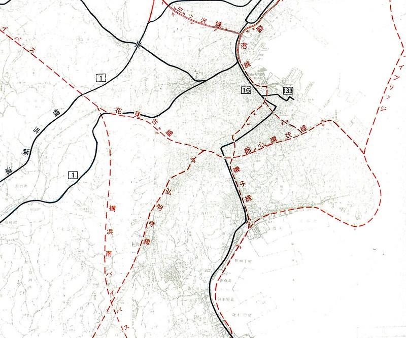横浜都市高速道路網計画案 (6)