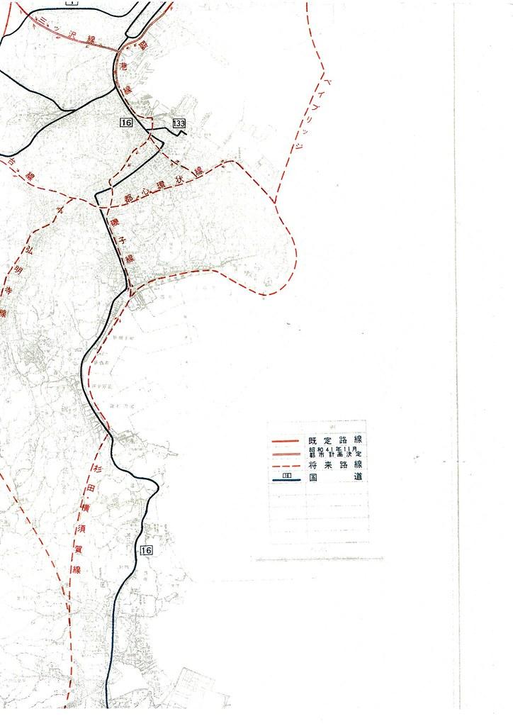 横浜都市高速道路網計画案 (5)