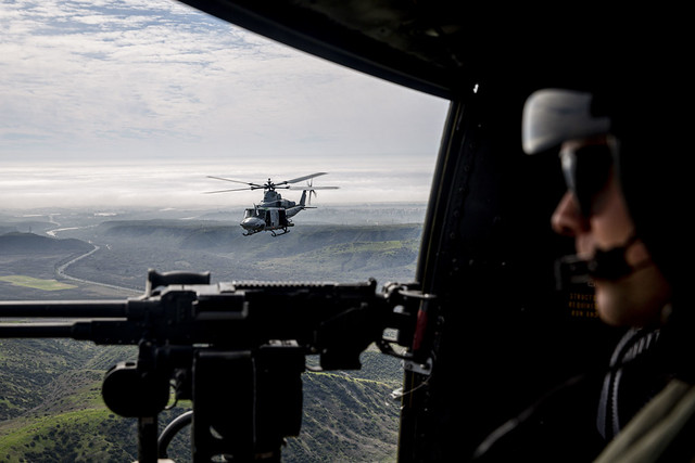 HMLA-169 assaults aerial gunnery range