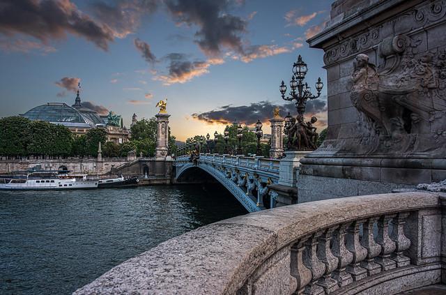 [Explore 21/03/20 #316] Pont Alexandre III - Paris à l'aube