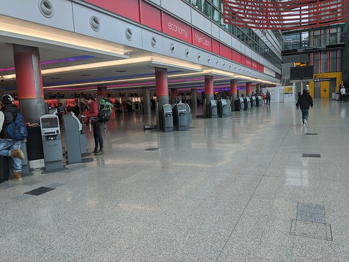 The coronavirus pandemic emptied Heathrow.