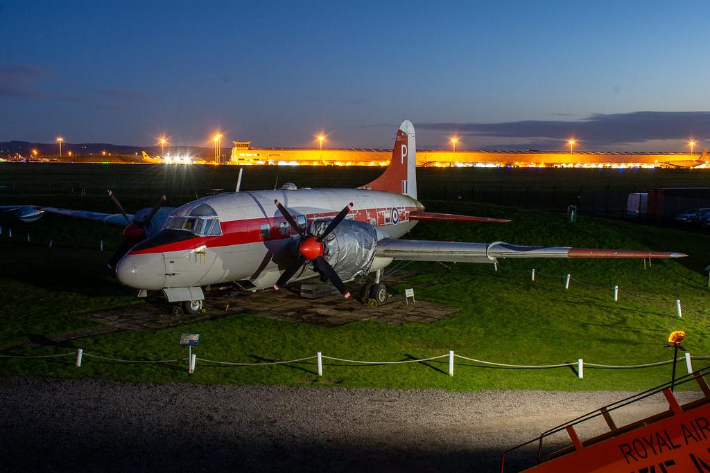 G-BHDD | Vickers V.668 Varsity T.1 | East Midlands Aeropark