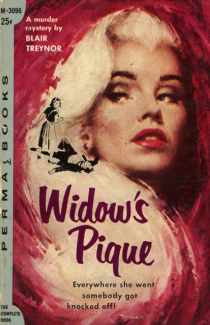 Perma Books M-3096 - Blair Treynor - Widow's Pique