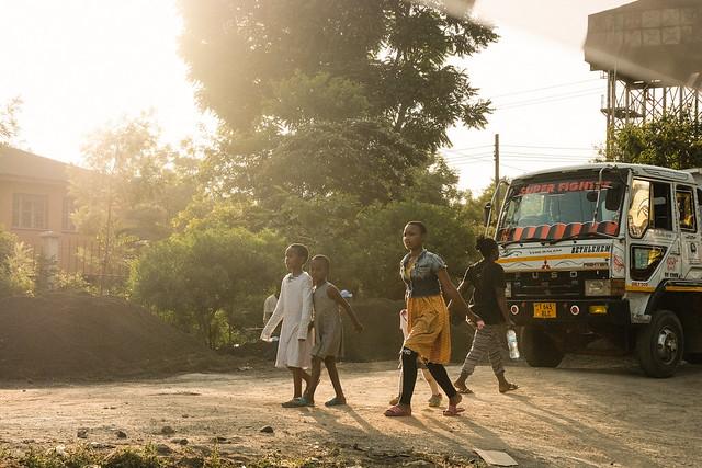 Last rays of light, Arusha, Tanzania