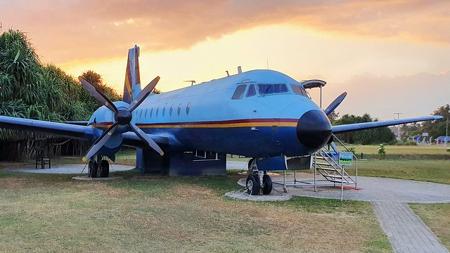 Hawker Siddeley HS.748 Srs.2A c/n 1691 Sri Lanka Air Force serial SCM3101 preserved at Koggala