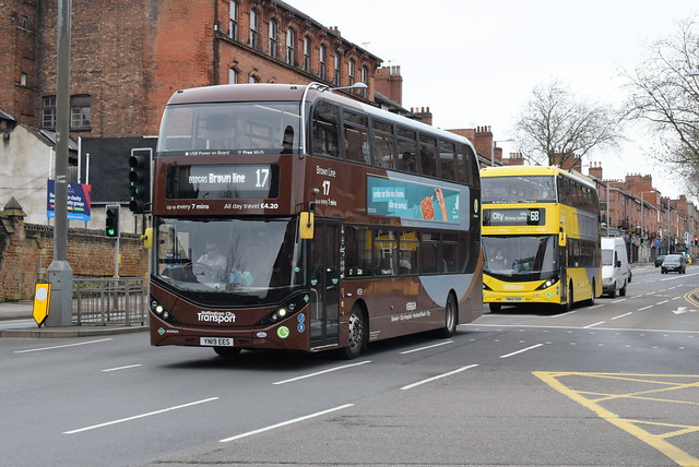 NCT 459 and 502 @ Nottingham Victoria bus station