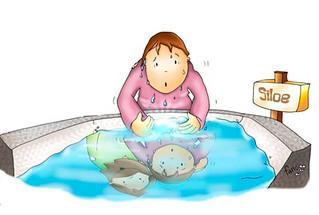 Fue a lavarse en la piscina de Siloé