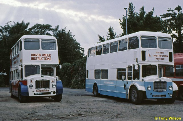 KBD716D & EMR288D Hampshire Bus 9202 & 9201