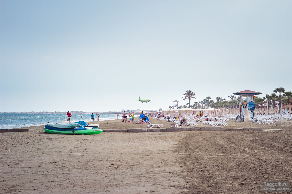 Ларнака пляж Маккензи
