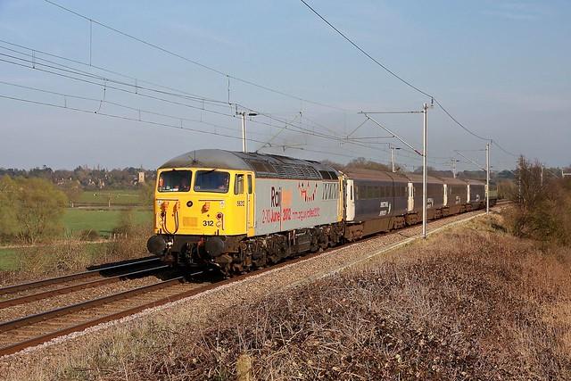 56312 in 'Railfest' livery.