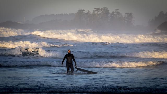 Cox Bay Surfer