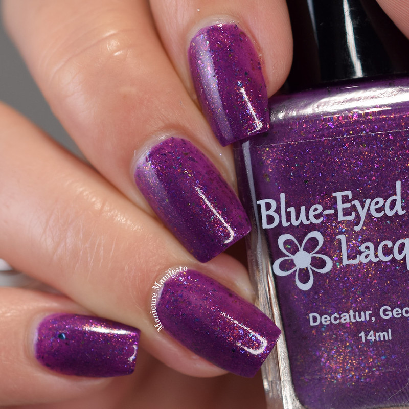 Blue Eyed Girl Lacquer Gnomebody But You review