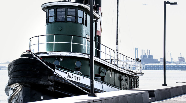 Tug Jupiter on Delaware River