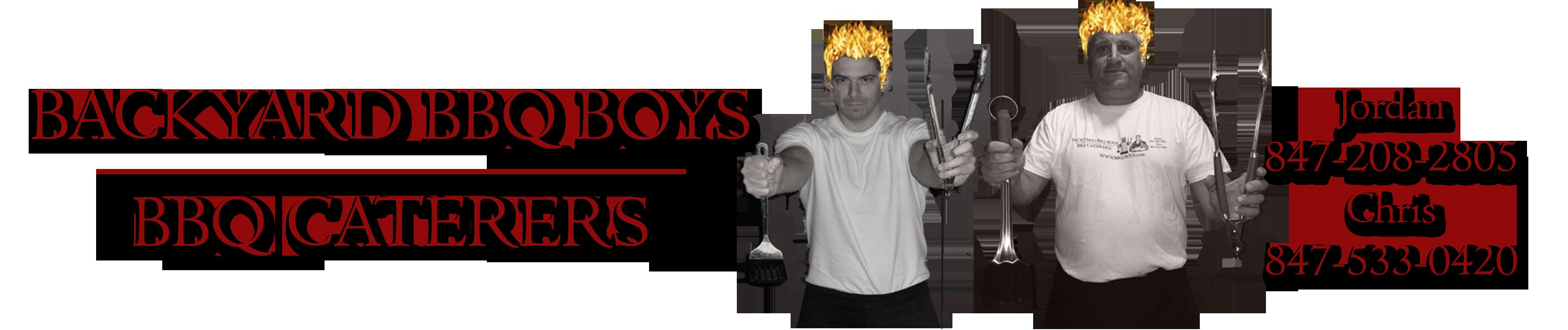 Backyard BBQ Boys Banner