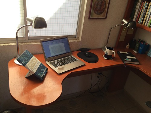 Working set up at my home office (Aguascalientes)