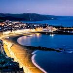 Aberystwyth's North Beach, Wales アベリストウィスの北の浜、ウェールズ、イギリス
