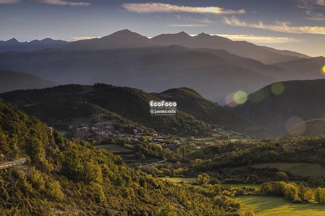 Bonansa. La Ribagorza, Pirineos, Aragón, España.