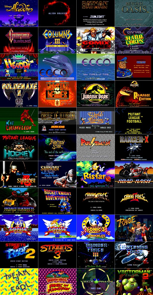 More Great Sega Genesis Games