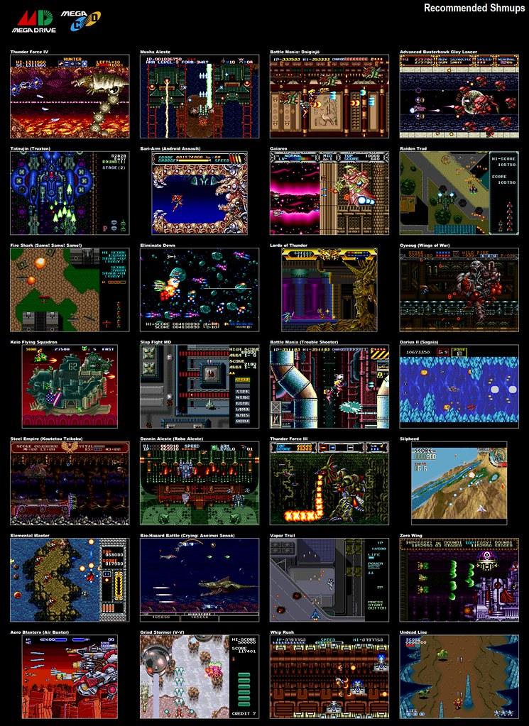 Interesting Sega Genesis Games