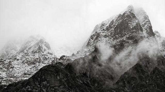 Mont Blanc scene.