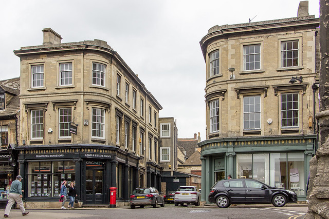 St Mary's Street, Stamford, England