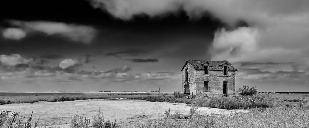 Pearl Kansas House Ruins