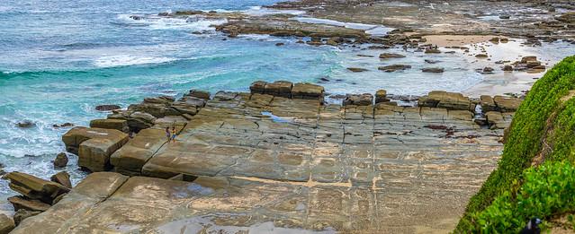 Rock shelf, NSW