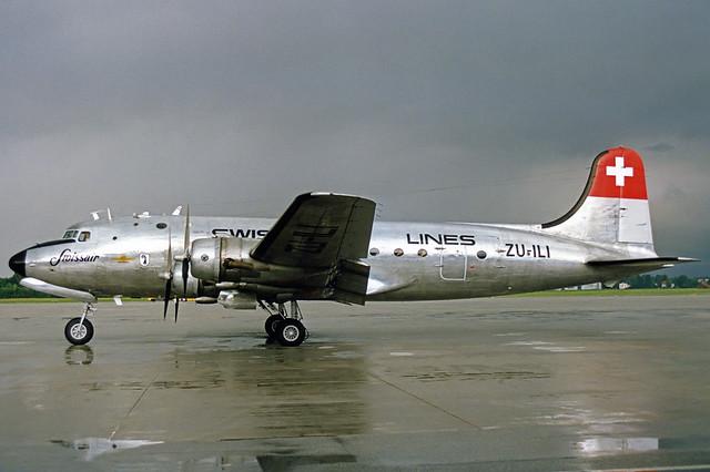 Swissair Douglas DC-4 ZU-ILI