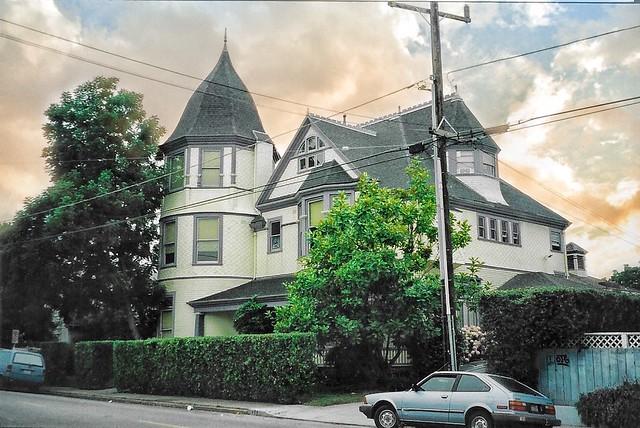 Santa Cruz - California - The Golden Gate Villa - Architecture -Queen Anne