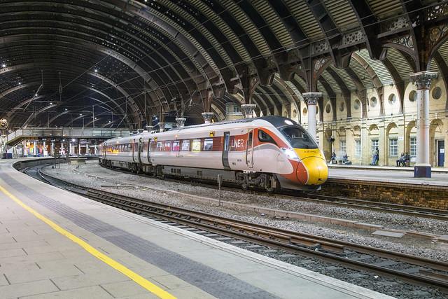LNER IEP 800 206 York
