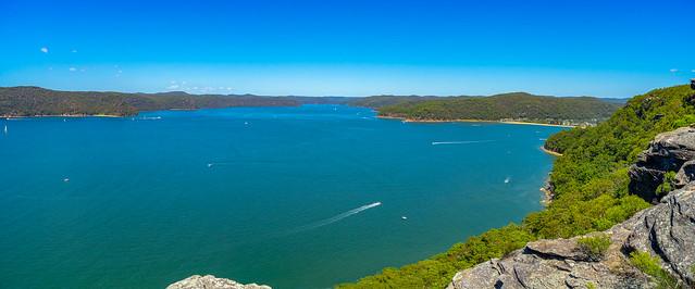 From Warrah Lookout, Woy Woy, NSW