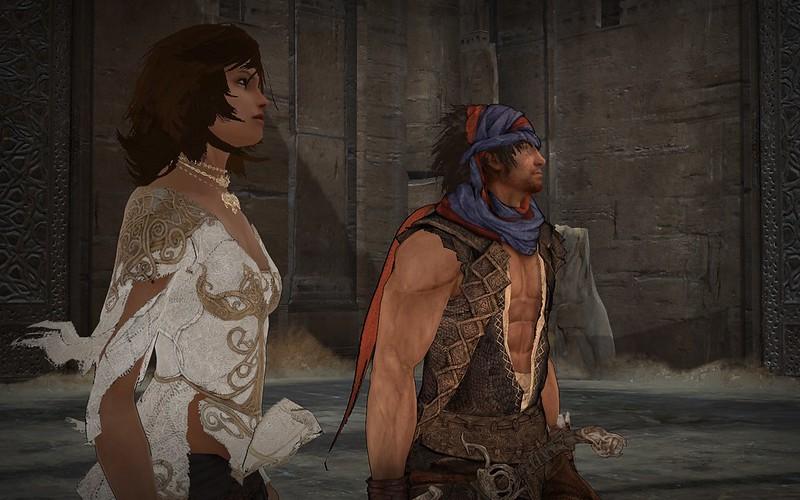 Prince of Persia - Flat Boobs