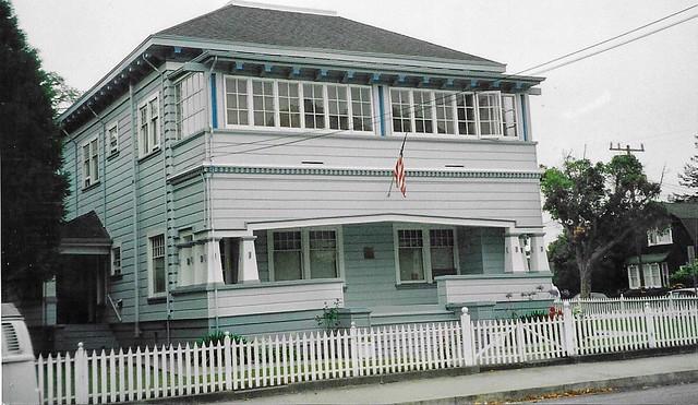 Santa Cruz - California - Eben Bennett Home - Oldest Family Residence  - On Beach Hill