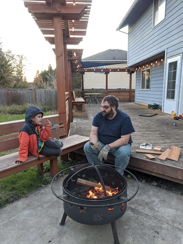 Pandemic Fire Pit Hangout