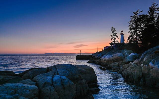 Sunset at Lighthouse Park