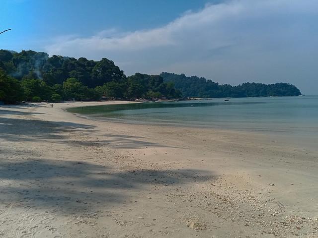 A beach on Pulau Pangkor